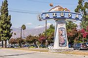 Azusa City Monument