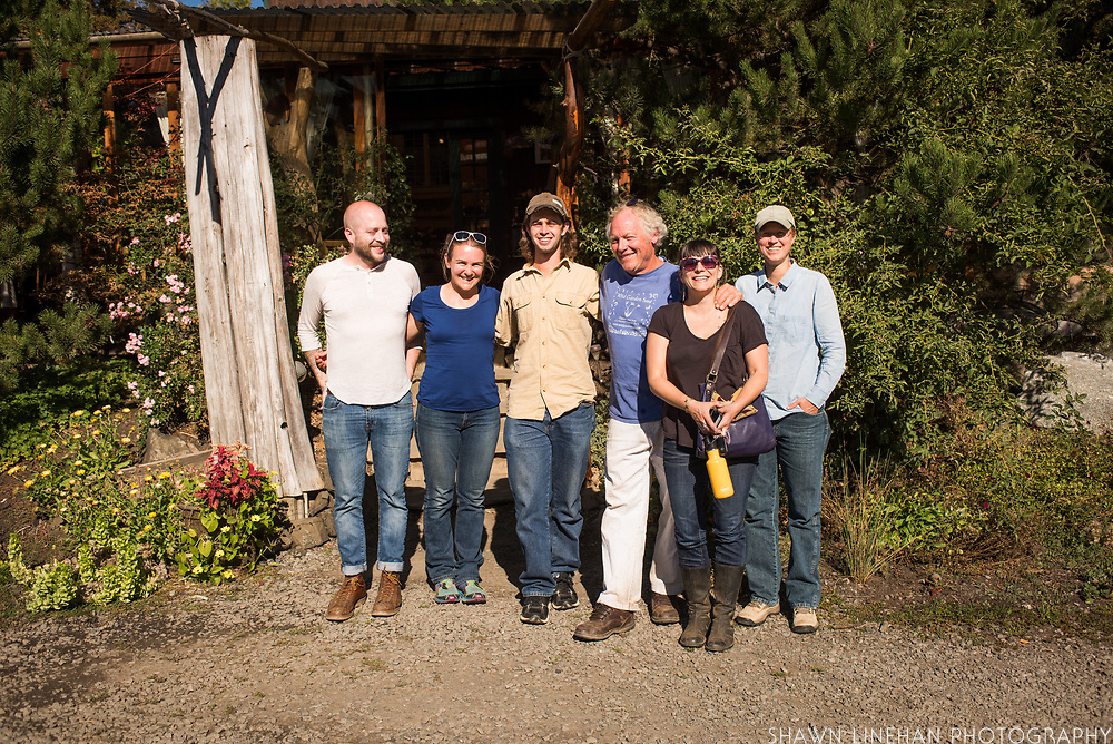 From L to R: Timothy Watsell, Claire Luby, Alex Wenger, Frank Morton, Lane Selman, Julie Dawson