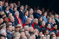 Prince Harry sings The National Anthem - Mandatory byline: Rogan Thomson/JMP - 12/03/2016 - RUGBY UNION - Twickenham Stadium - London, England - England v Wales - RBS 6 Nations 2016.