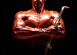 graphic design african american body builder, muscular, holding welder blowtorch. 1 one  copy space Achievement Adaptability Americana Concentration(MODEL RELEASE AVAILABLE) CONCEPT STOCK PHOTOS