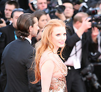 Jessica Chastain attends the gala screening of Lawless at the 65th Cannes Film Festival. The screenplay for the film Lawless was written by Nick Cave and Directed by John Hillcoat. Saturday 19th May 2012 in Cannes Film Festival, France.