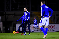 Bristol Rovers warm up prior to kick off - Mandatory by-line: Ryan Hiscott/JMP - 22/01/2019 - FOOTBALL - Memorial Stadium - Bristol, England - Bristol Rovers v Port Vale - Checkatrade Trophy