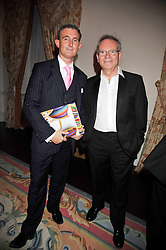 Left to right, TIM GOSLING and LORD ARCHER at a party to celebrate the publication of Gosling - Classic Design for Contemporary Interiors by Tim Gosling held at William Kent House, The Ritz Hotel, London on 1st October 2009.