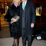 NLD/Amsterdam/20091201 - Opening juwelier Tiffany & Co in Amsterdam, Sheila de Vries en partner Tom de Vries
