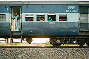 Unlike other countries with stringent rules and locked doors, if a train breaks down, passengers sometimes use the opportunity to go outside.<br /> Outside the Dibrugarh-Kanyakumari Vivek Express, the longest train route in the Indian Subcontinent. It joins Kanyakumari, Tamil Nadu, which is the southernmost tip of mainland India to Dibrugarh in Assam province, near the border with Burma.