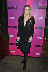 DAISY DE VILLENEUVE at a party tocelebrate the launch of Diesel's new female fragrance 'Loverdose' held at The Box, 11-12 Walkers Court, Brewer Street, London on 7th September 2011.