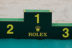 Rolex podium<br /> Rolex FEI World Cup Final - Geneve 2010<br /> © Dirk Caremans