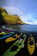 Hakaaano, North Shore, Molokai, Hawaii, USA<br />