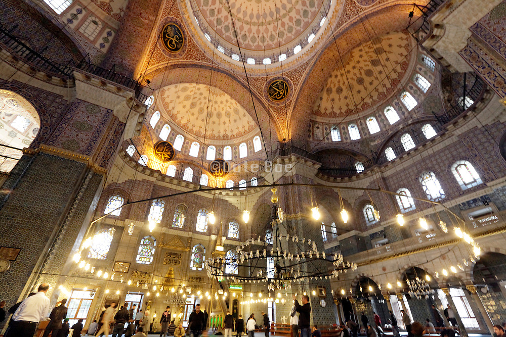 Yeni (New) Mosque in Istanbul