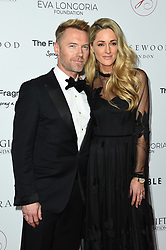 Ronan Keating and Storm Keating attending the 9th Annual Global Gift Gala held at the Rosewood Hotel, London. Picture date: Friday November 2nd 2018. Photo credit should read: Matt Crossick/ EMPICS Entertainment.