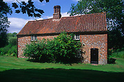 AE2KPE Seventh century cottage open as visitor attraction Cockley Cley Norfolk England