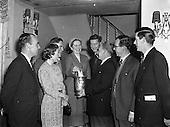 1957 Bord Failte Luncheon at The Gresham