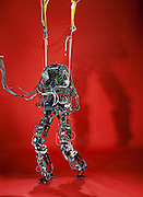 The M2 humanoid robot, built in the basement of the Massachusetts Institute of Technology's Leg Lab, took its first tentative steps in the year 2000. Dan Paluska, a mechanical engineering grad student, leads M2's hardware design and construction. The lower torso robot is funded by a DARPA (US Defense Advanced Research Projects Agency) program called Tactile Mobile Robotics. DARPA's goal is to replace soldiers and rescue workers in dangerous situations. Massachusetts Institute of Technology (MIT), Cambridge, MA USA.