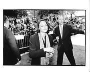 Jodie Foster arriving at a movie premiere. New York. 1995 approx. © Copyright Photograph by Dafydd Jones 66 Stockwell Park Rd. London SW9 0DA Tel 020 7733 0108 www.dafjones.com