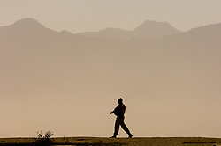 A British soldier on patrol in Kabul, Afghanistan. (Photo © Jock Fistick)
