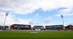 File photo dated 04-08-2017 of A general view of the Emirates Old Trafford, Manchester.