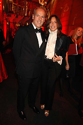 MASSIMO & SARA CARELLO at a dinner held at the Natural History Museum to celebrate the re-opening of their store at 175-177 New Bond Street, London on 17th October 2007.<br /><br />NON EXCLUSIVE - WORLD RIGHTS