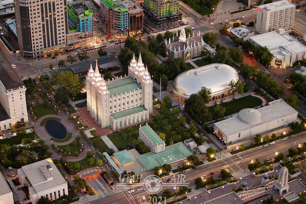 LDS Temple Square in Salt Lake City Utah