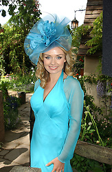 Singer KATHERINE JENKINS at the 2005 RHS Chelsea Flower Show on 23rd May 2005<br /><br />NON EXCLUSIVE - WORLD RIGHTS
