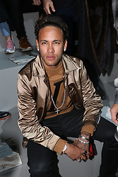 Neymar Jr attending the Louis Vuitton Men Menswear Fall/Winter 2018-2019 show as part of Paris fashion week in Paris, France on January 18, 2018. Photo by Jerome Domine/ABACAPRESS.COM