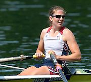 Lucerne. Switzerland,  USA2 Adrienne MARTELLI (b) , Megan KALMOE (s)  Rotsee Lake.  15:26:25  Saturday  13/07/2013  [Mandatory Credit, Peter Spurrier/ Intersport Images]