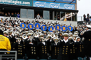 6 Dec 2008: Navy Midshipman hold up a sign during the Army / Navy game December 6th, 2008.  The Navy won 34-0 at Lincoln Financial Field in Philadelphia, Pennsylvania.