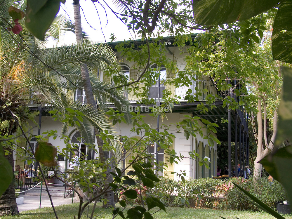 Key West Florida FL Ernest Hemingway Home