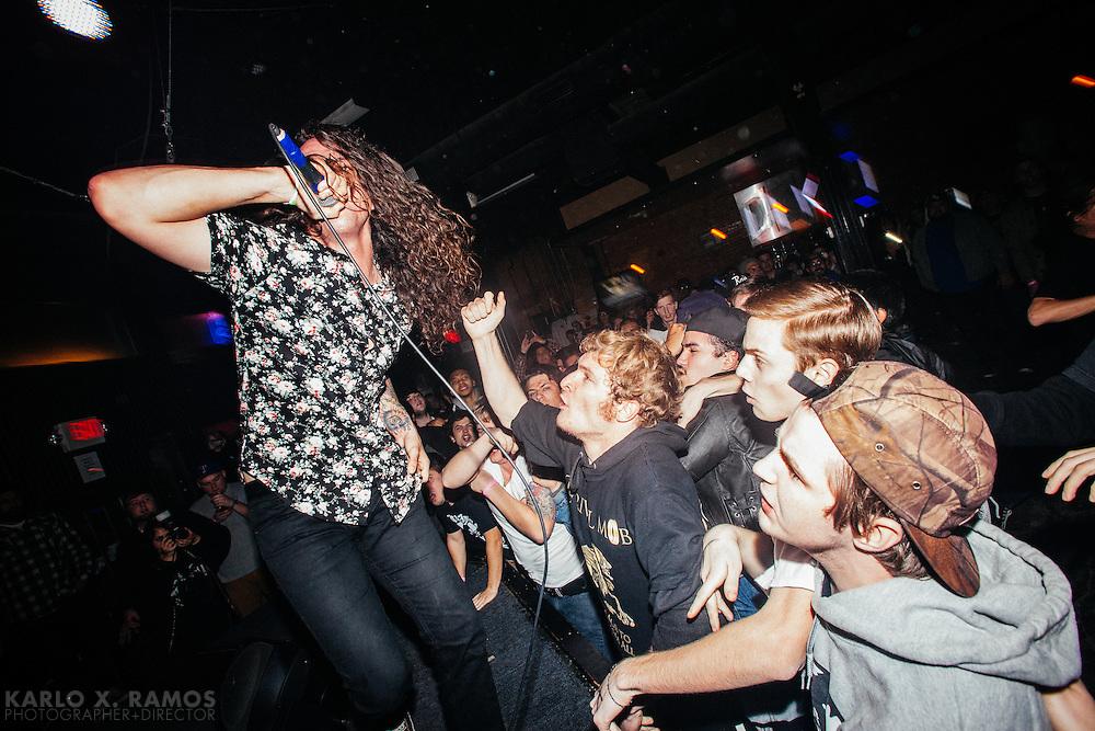 Trash Talk Performing at Club Dada<br /> Dallas, TX