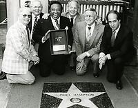 1982 Lionel Hampton's Walk of Fame ceremony