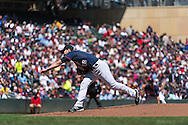 Scott Diamond #58 of the Minnesota Twins pitches against the Baltimore Orioles on May 12, 2013 at Target Field in Minneapolis, Minnesota.  The Orioles defeated the Twins 6 to 0.  Photo: Ben Krause