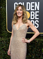 January 6, 2019 - Beverly Hills, California, United States of America - Felicity Huffman attends the 76th Annual Golden Globe Awards at the Beverly Hilton in Beverly Hills, California on  Sunday, January 6, 2019. HFPA/POOL/PI (Credit Image: © Prensa Internacional via ZUMA Wire)