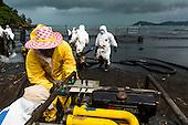 Oil Spill Fouls Beach on Koh Samet