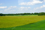Rural landscape in Lithuania