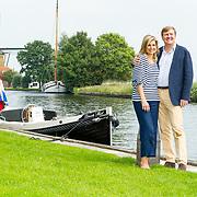 NLD/Warmond//20170707 - Koninklijke fotoshoot zomer 2017, Koning Willem Alexander en  Koningin Maxima