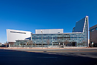 Montgomery County Maryland Photographer Architectural Image of Performing Arts Center at Montgomery College, Bethesda, MD