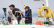 The Princess Royal sailing aboard Albatross II with the UKSA during Aberdeen Asset Management Cowes Week. <br /> Picture date Tuesday 5th August, 2014.<br /> Picture by Christopher Ison. Contact +447544 044177 chris@christopherison.com