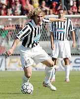 """Pavel Nedved (Juventus)<br /> Italian """"Serie B"""" 2006-07<br /> 19 May 2007 (Match Day 39)<br /> Arezzo-Juventus (1-5)<br /> """"Comunale""""-Stadium-Arezzo-Italy<br /> Photo Luca Pagliaricci INSIDE"""