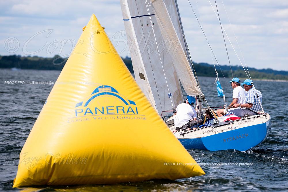 Streaker sailing at the Herreshoff Classic Yacht Regatta.