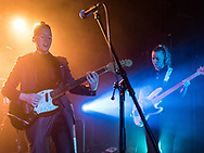 Margrét Rán and Guðrún of Icelandic indie-electro band Vök at Zoom Club in Frankfurt