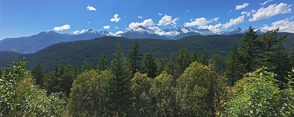 Tantalus Range of teh Coast Mountains, Sea To Sky Highway, British Columbia, Canada