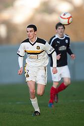 Dumbarton's PaulMcGinn..Dumbarton 0 v 2 Falkirk, 23/2/2013..©Michael Schofield.