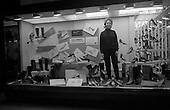 1967 Window Display at Fitzpatricks Shoe Store