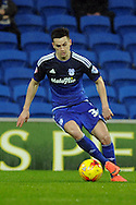 Cardiff City's Tom Lawrence in action. Skybet football league championship match, Cardiff city v MK Dons at the Cardiff city stadium in Cardiff, South Wales on Saturday 6th February 2016.<br /> pic by Carl Robertson, Andrew Orchard sports photography.