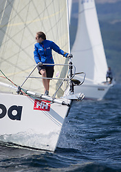 Sailing - SCOTLAND  - 26th May 2018<br /> <br /> DAY 2 Racing the Scottish Series 2018, organised by the  Clyde Cruising Club, with racing on Loch Fyne from 25th-28th May 2018<br /> <br /> GBR1121L, Tangaroa, Eliz & Des Balmforth, CCC, Pronavia 38<br /> <br /> Credit : Marc Turner<br /> <br /> Event is supported by Helly Hansen, Luddon, Silvers Marine, Tunnocks, Hempel and Argyll & Bute Council along with Bowmore, The Botanist and The Botanist