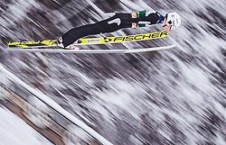 02.02.2019, Heini Klopfer Skiflugschanze, Oberstdorf, GER, FIS Weltcup Skiflug, Oberstdorf, im Bild Andreas Schuler (SUI) // Andreas Schuler of Switzerland during the FIS Ski Jumping World Cup at the Heini Klopfer Skiflugschanze in Oberstdorf, Germany on 2019/02/02. EXPA Pictures © 2019, PhotoCredit: EXPA/ JFK