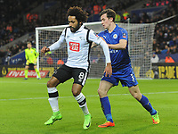 Football - 2016 / 2017 FA Cup - Fourth Round, Replay: Leicester City vs. Derby County<br /> <br /> Ikechi Anya of Derby at King Power Stadium.<br /> <br /> COLORSPORT/ANDREW COWIE