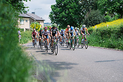 Carlee Taylor (Liv Plantur) at Boels Hills Classic 2016. A 131km road race from Sittard to Berg en Terblijt, Netherlands on 27th May 2016.