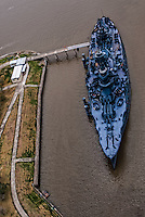 Battleship Texas (a.k.a. USS Texas), San Jacinto Battleground