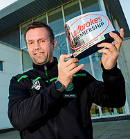 03/11/15<br /> LENNOXTOWN<br /> Celtic manager Ronny Deila receives the Ladbrokes Premiership Manager of the Month award.<br /> **FREE FOR USE ON WEDNESDAY 4TH OF NOVEMBER**
