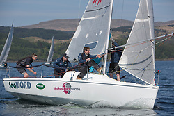 Sailing - SCOTLAND  - 25th-28th May 2018<br /> <br /> The Scottish Series 2018, organised by the  Clyde Cruising Club, <br /> <br /> First days racing on Loch Fyne.<br /> <br /> GBR7060N, Seaword, Dara O'Malley, PEYC<br /> <br /> Credit : Marc Turner<br /> <br /> <br /> Event is supported by Helly Hansen, Luddon, Silvers Marine, Tunnocks, Hempel and Argyll & Bute Council along with Bowmore, The Botanist and The Botanist
